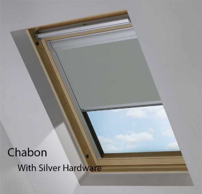 View Blackout Roller Roof Blinds ¦ To Fit VELUX® Windows - Just Blinds